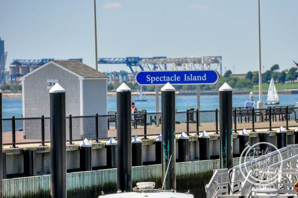 Spectacle Island in the Boston Harbor Islands