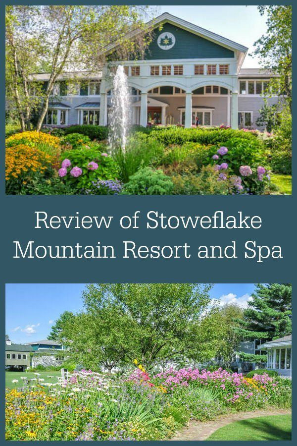 Review of Stoweflake Mountain Resort and Spa in Stowe, Vermont, a family-friendly resort with an amazing spa.