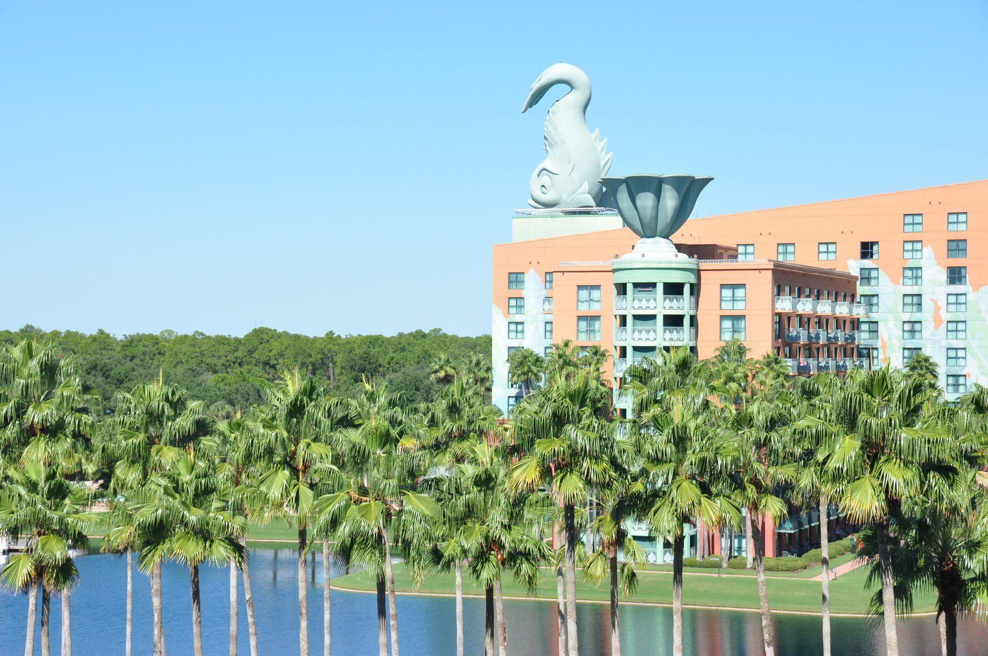 The Disney Swan