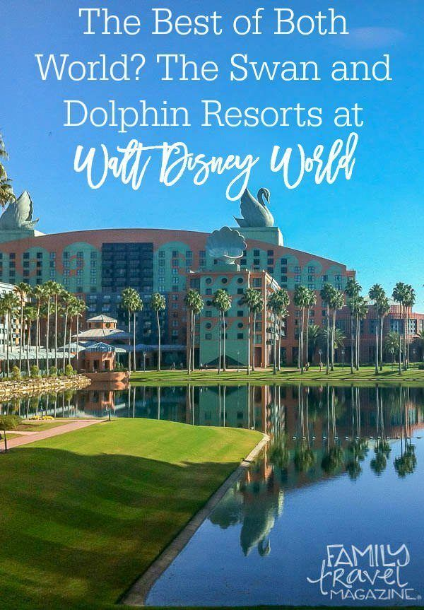 The Best of Both Worlds - the Walt Disney World Swan and Dolphin Resort located right on property