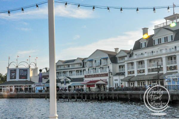 Some of the Disney Boardwalk Restaurants