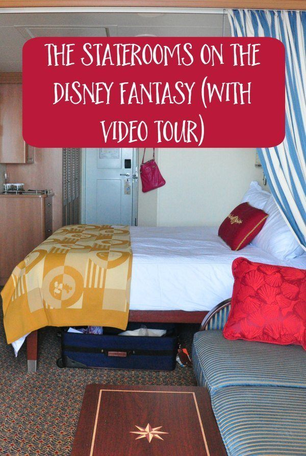 The Staterooms on the Disney Fantasy (With a Video Review)