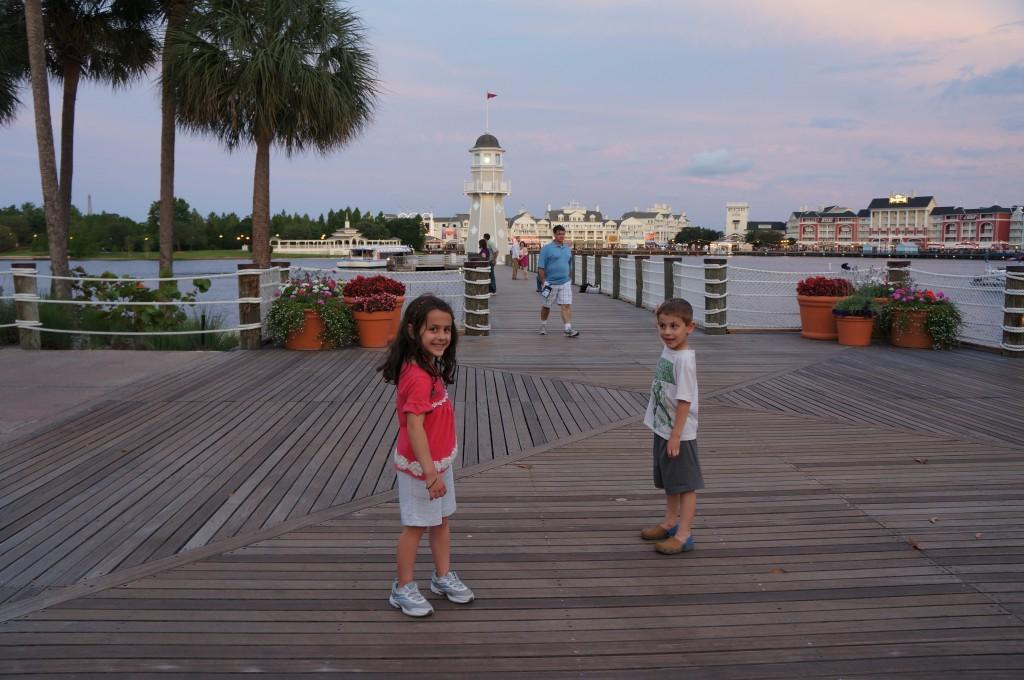 kids at yacht club