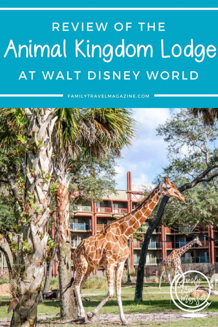 A review of Disney's Animal Kingdom Lodge, a fun resort at Walt Disney World where you can see animals right from the resort.