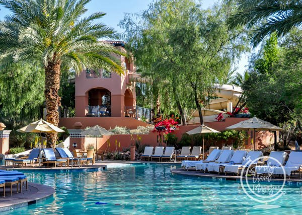 The main pool at the Scottsdale Fairmont Princess