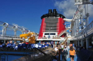 Pool Deck Disney Fantasy