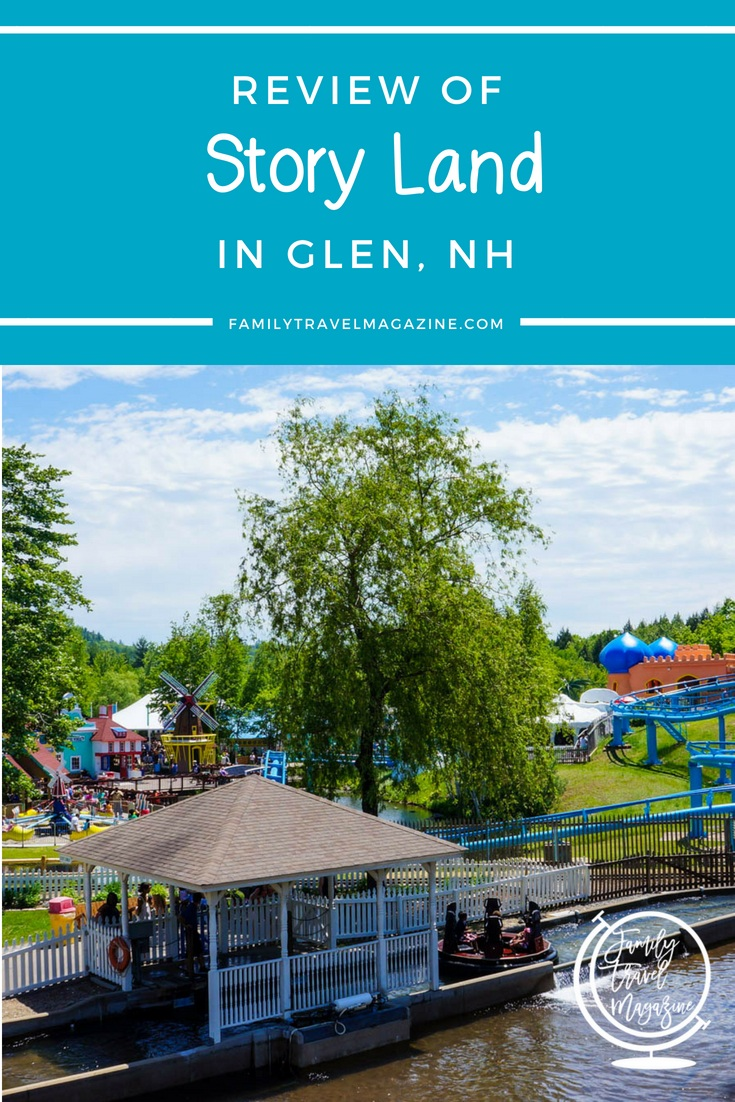 A review of Story Land theme park, located in the White Mountains of New Hampshire, in Glen near North Conway.