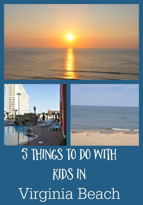 Planning your next family vacation to Virginia Beach, Virginia? Check out our 5 favorite things to do there including the beach, aquarium, delicious food, the Eastern Shore, and more!
