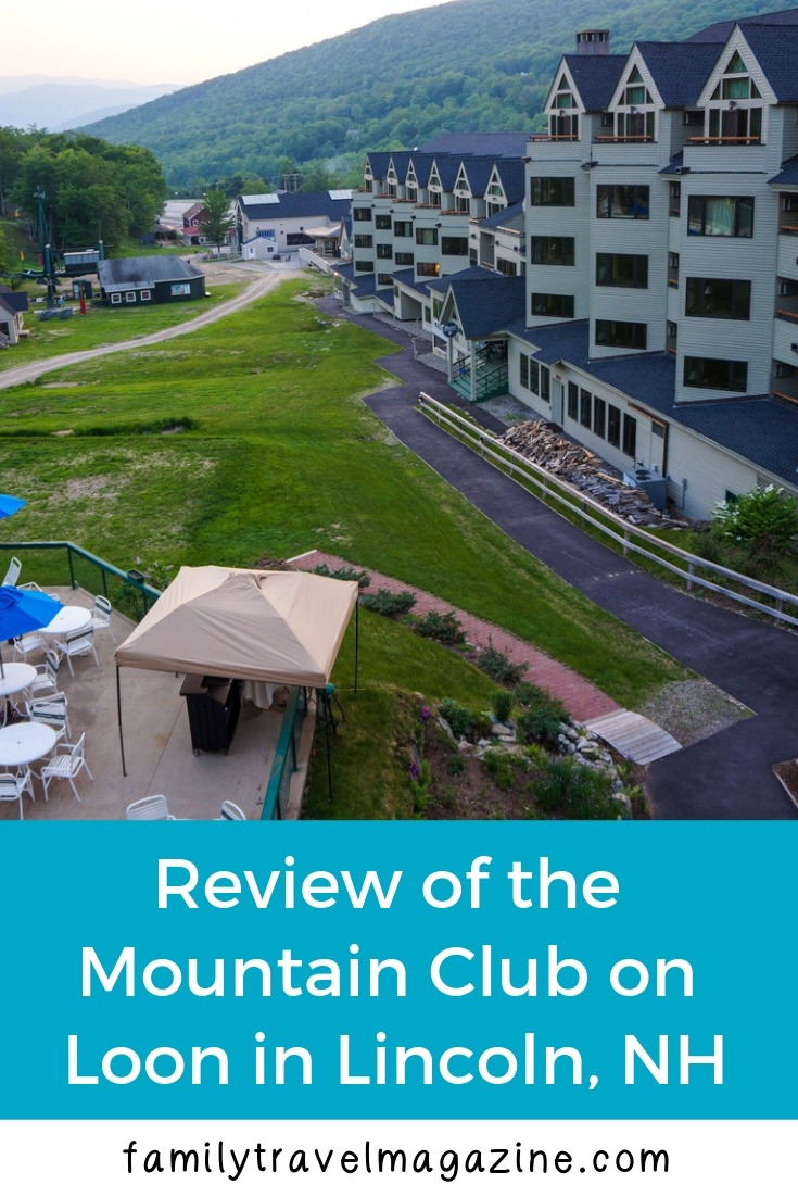 Review of the Mountain Club on Loon, including restaurants, amenities, and rooms at this Lincoln, New Hampshire resort.