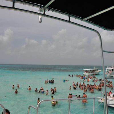 Visiting Stingray City Grand Cayman, Cayman Islands