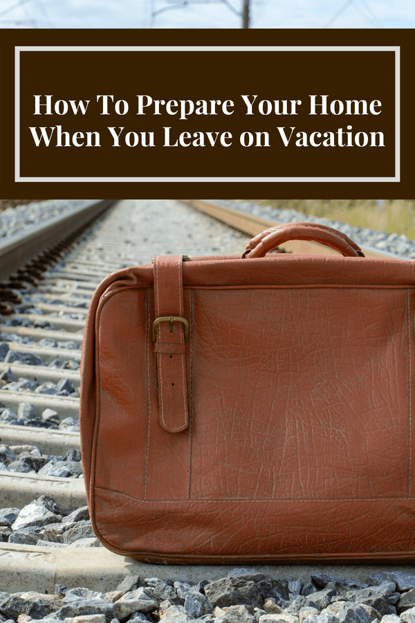 Expert advice and a good list of things to do to keep your house safe (and to save money) when you're away on vacation or traveling.