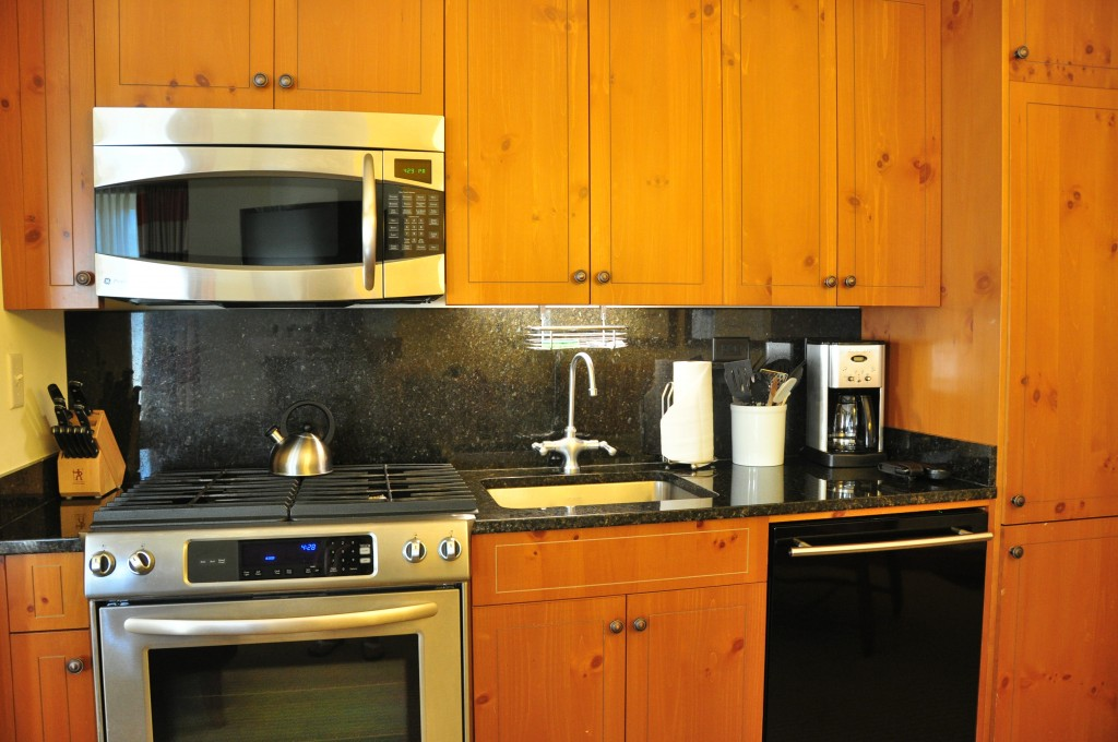 Kitchen at Stowe Mountain Lodge