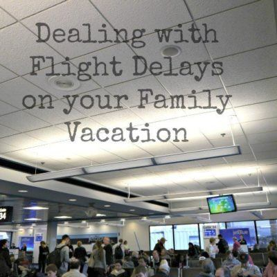 Dealing With Flight Delays on Your Family Vacation