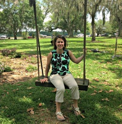 At the Magnolia Plantation in Louisiana