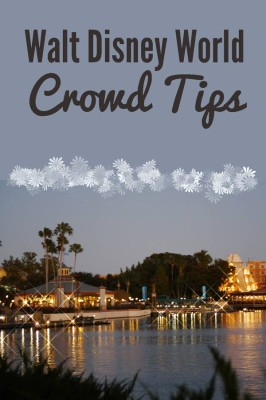 Walt Disney World Crowd Tips