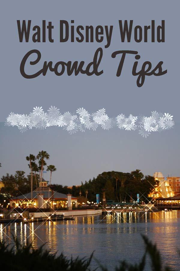 Walt Disney World Crowd Tips
