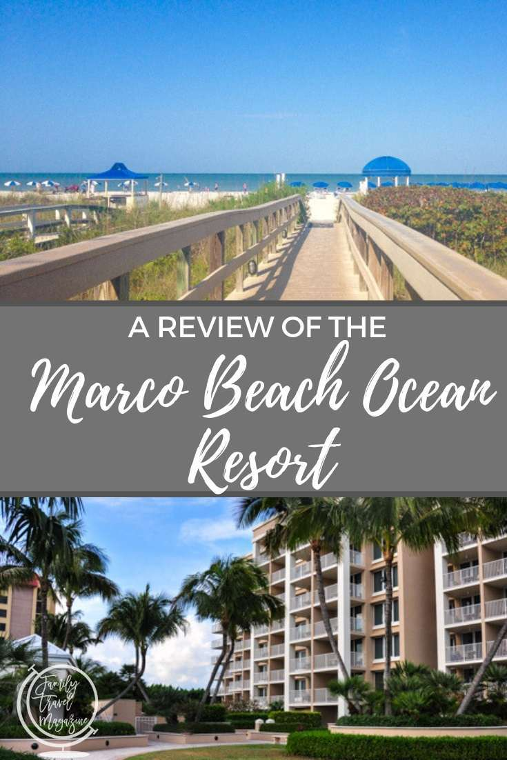 A review of the Marco Beach Ocean Resort, a family-friendly all-suite beach hotel located on Marco Island, Florida.
