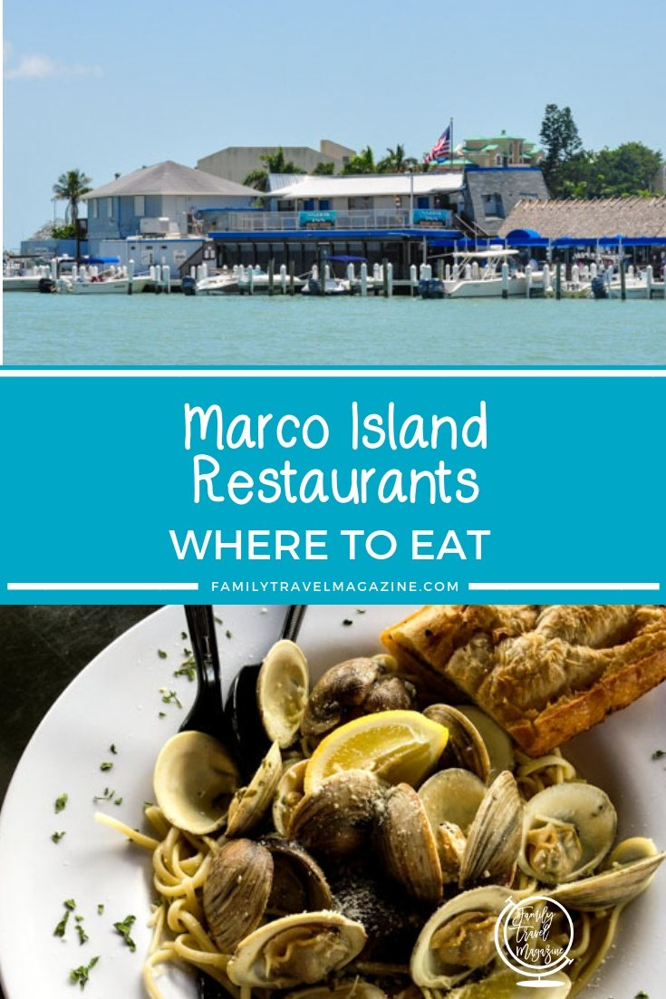 Where to eat in Marco Island, Florida.