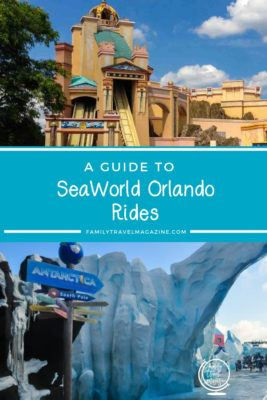 A guide to SeaWorld Orlando Rides including family rides and thrill rides.
