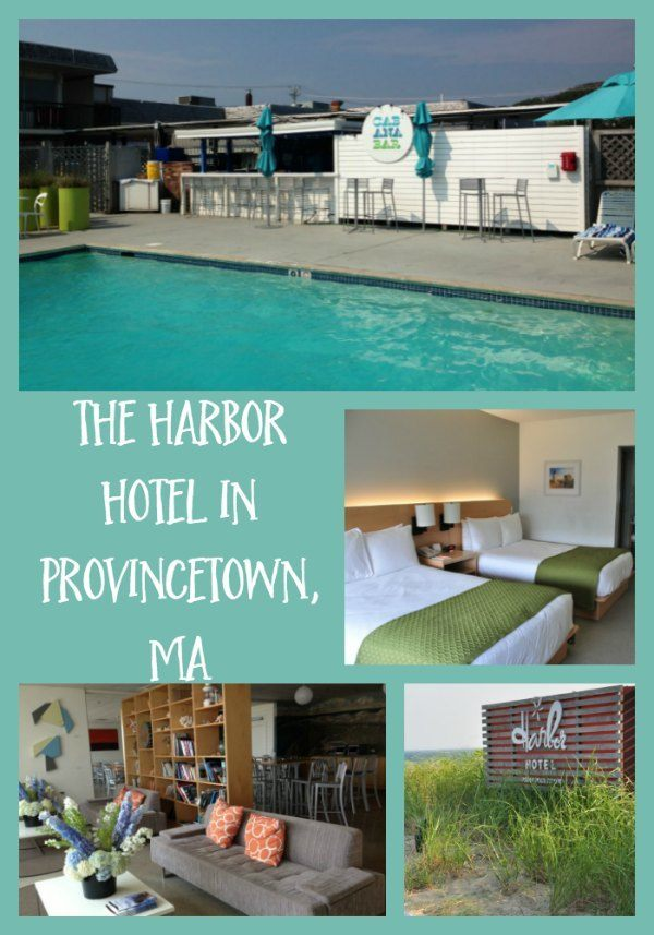 Review of the Family-Friendly Harbor Hotel in Provincetown, MA on Cape Cod.