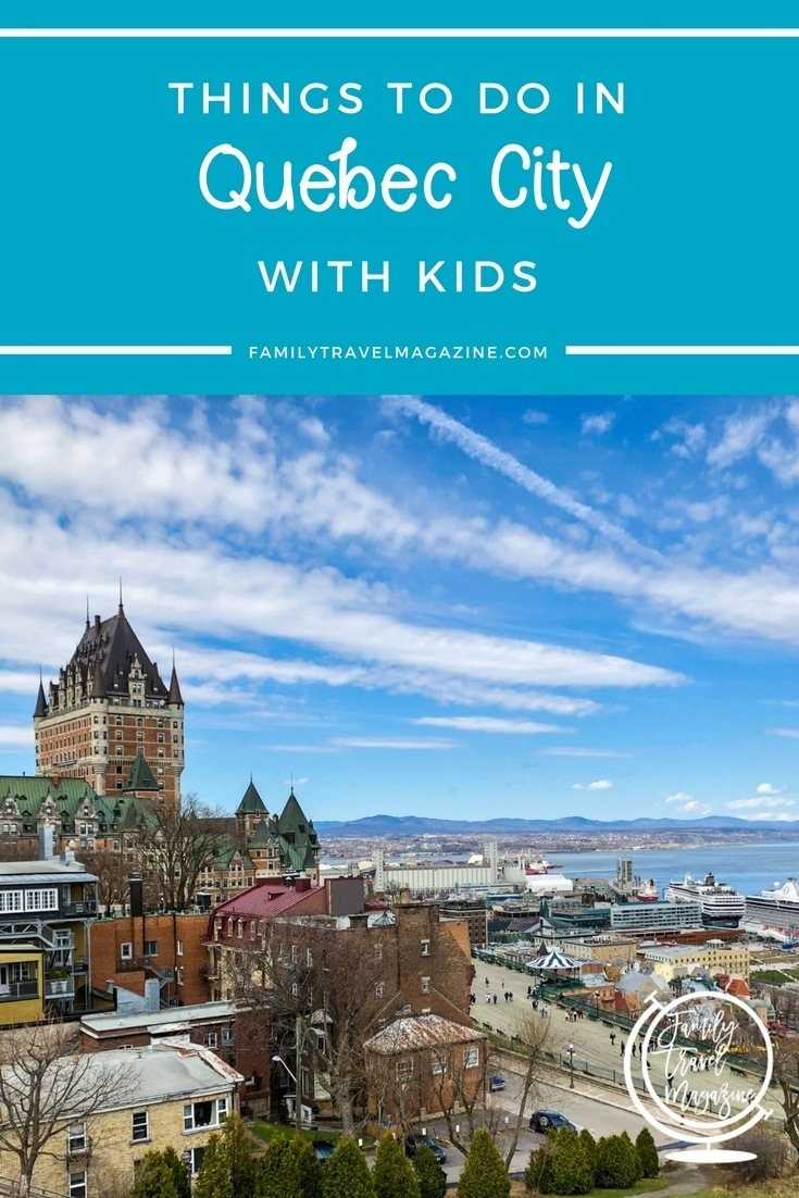 Quebec City has a lot to offer for family fun. Check out these things to do in Quebec City with kids including museums, parks, shopping, must see attractions, and more!