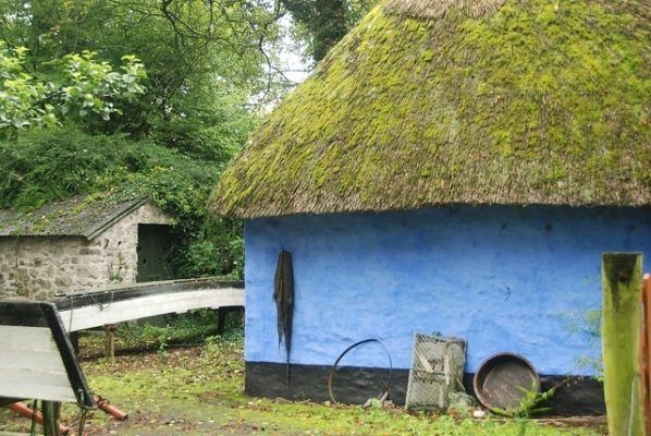 Ireland Family Travel: Visiting Bunratty Castle & Folk Park