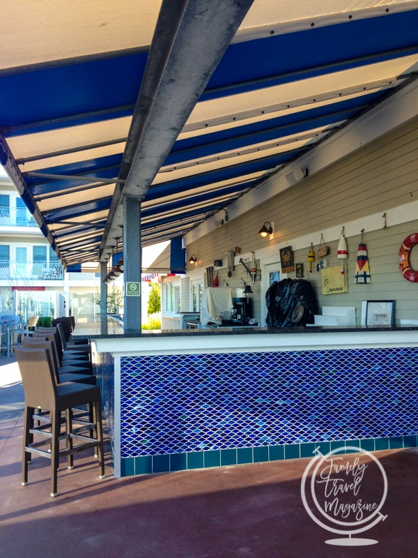 Outdoor Bar at the Sea Crest