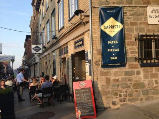 Restaurants in Quebec City