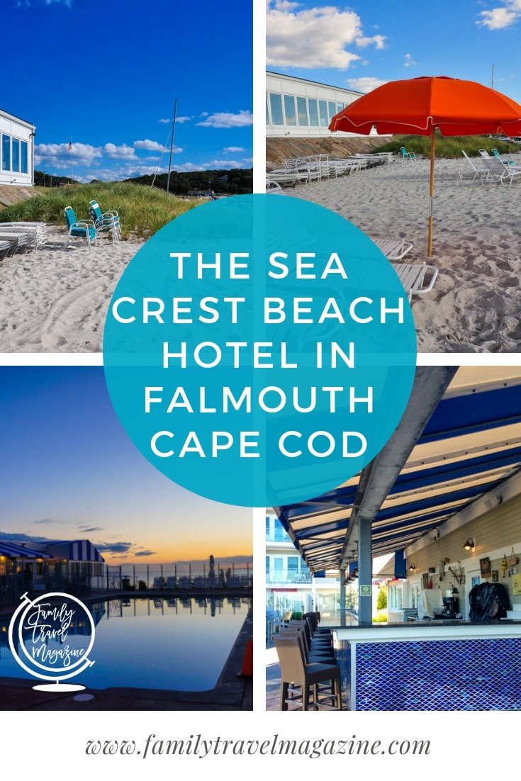 A review of the family-friendly and gorgeous Sea Crest Beach Hotel located in North Falmouth, MA on Cape Cod right on Old Silver Beach.