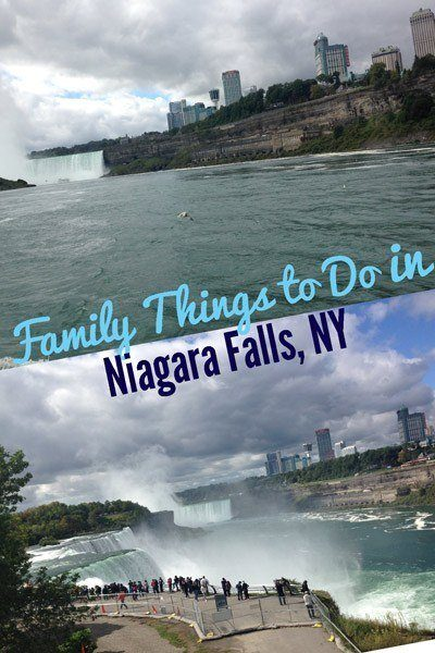 Family things to do in Niagara Falls, NY, including Cave of the Winds and Maid of the Mist.