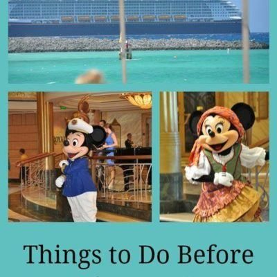 Things To Do Before A Disney Cruise