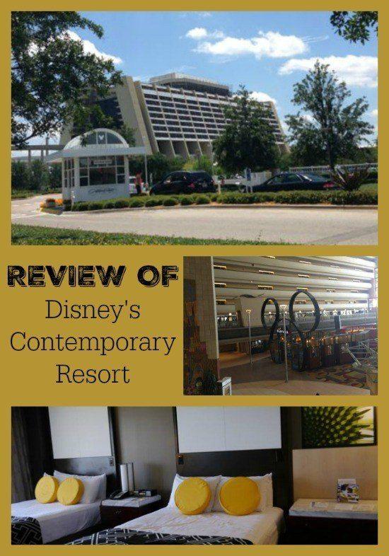 Review of the Disney Contemporary Resort
