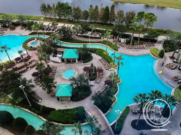 Hilton Bonnet Creek pool area
