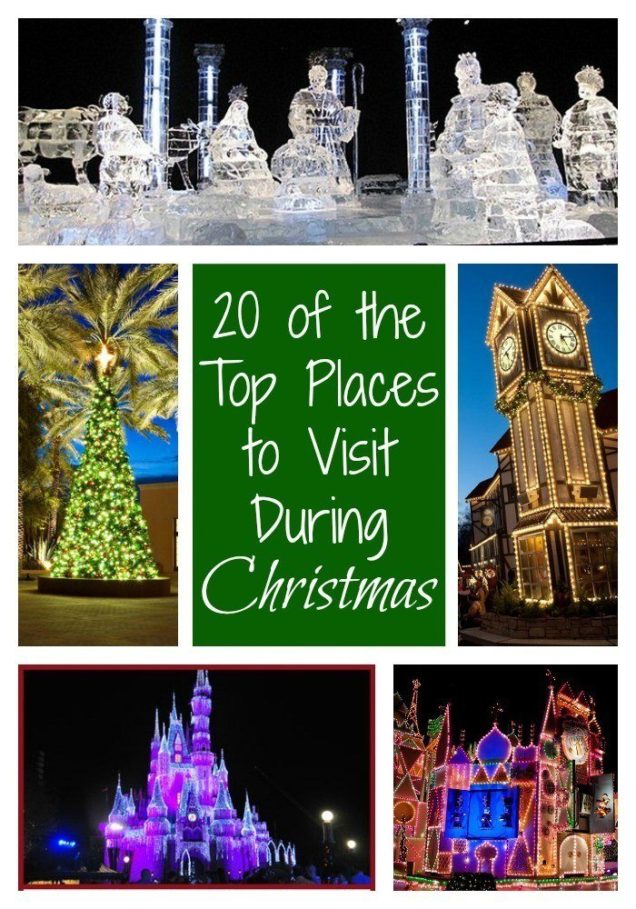 20 of the top places to travel during the christmas season