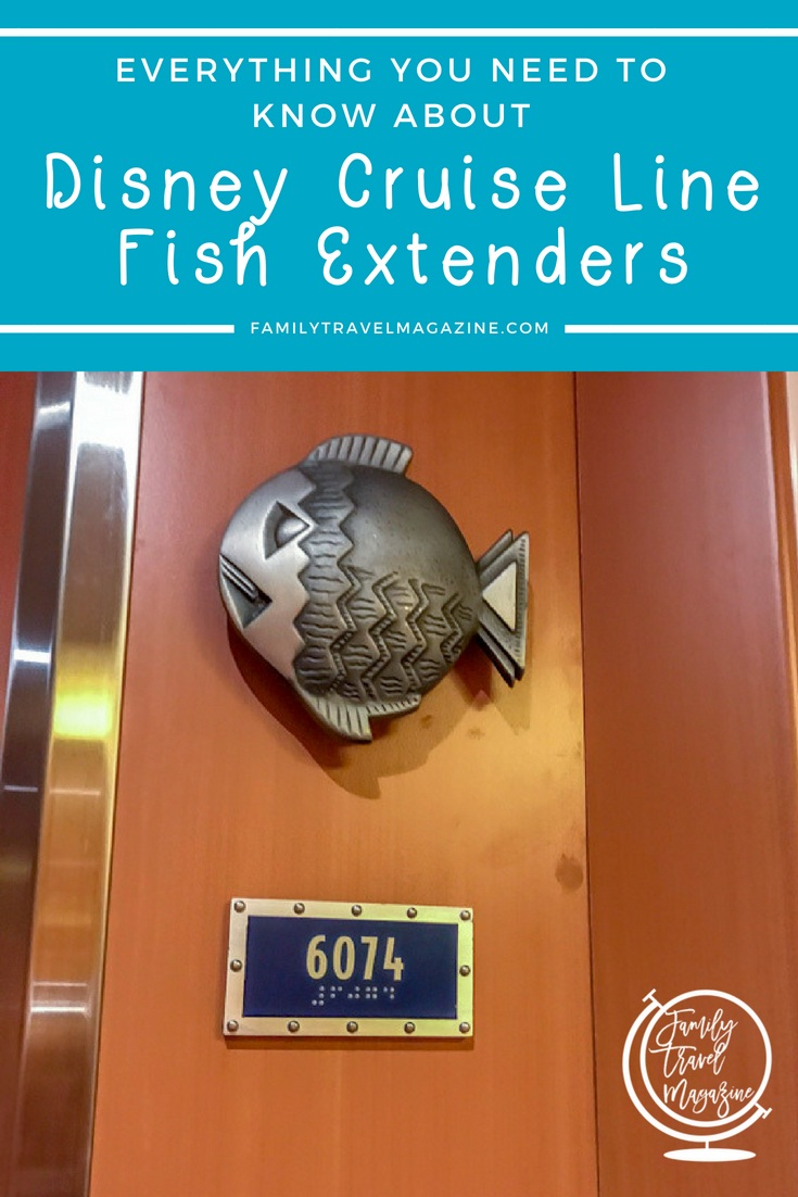 Going on a Disney cruise? Have you heard about Fish Extenders? Here's everything you need to know about Disney Cruise Line Fish Extenders including how to sign up, DIY homemade ideas, fun examples, links to Etsy shops, and more!
