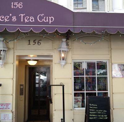 A Visit to Alice's Tea Cup in NYC