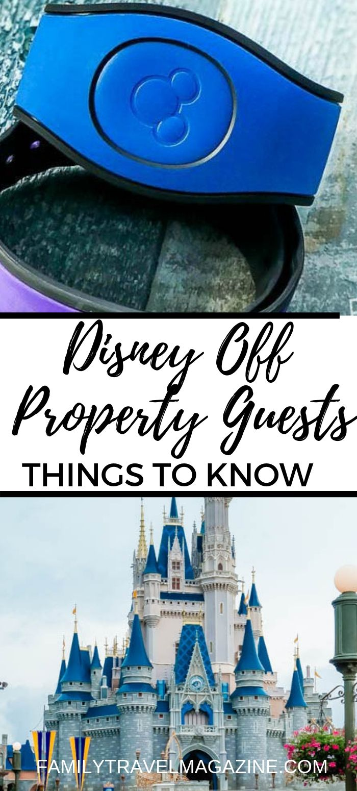Staying off property at Walt Disney World? Here's everything you need to know about your stay, including whether you need MagicBands, when to make FastPass and dining reservations, and how to handle transportation to and within the parks.