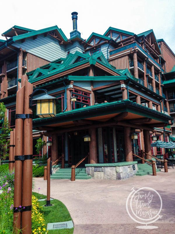The Exterior of Disney's Wilderness Lodge