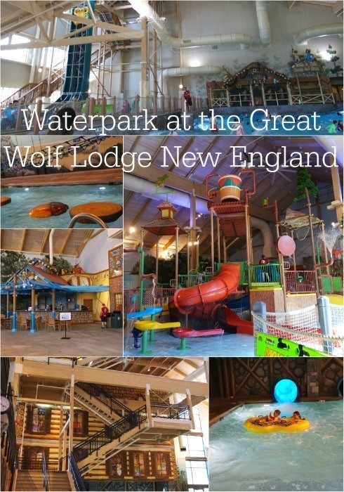 The Waterpark at the Great Wolf Lodge New England