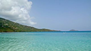 A Day at Magens Bay Beach St. Thomas, US Virgin Islands