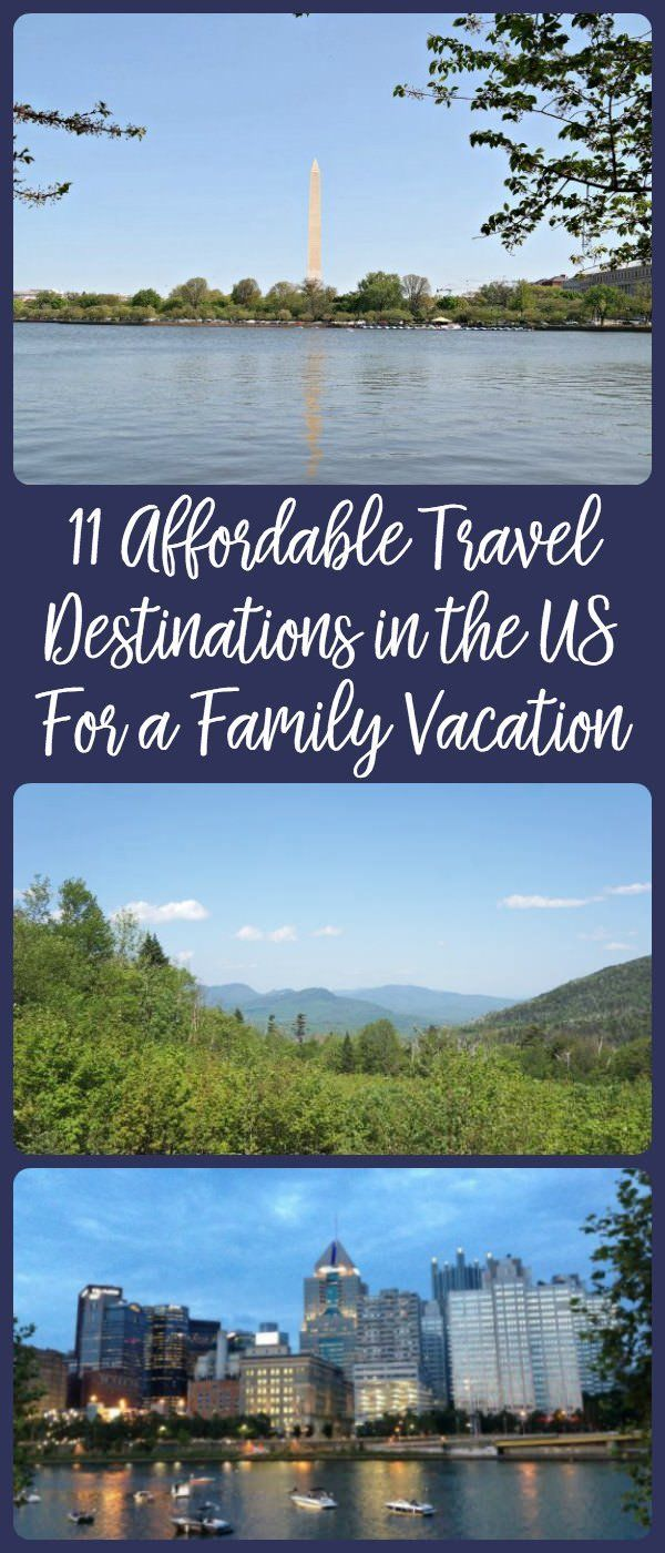 Being on a budget doesn't mean that you can't have an awesome family vacation. Travel to 1 of our 11 favorite cities in the United States for an affordable family vacation full of fun and adventure!