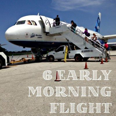 Early Morning Flight Tips