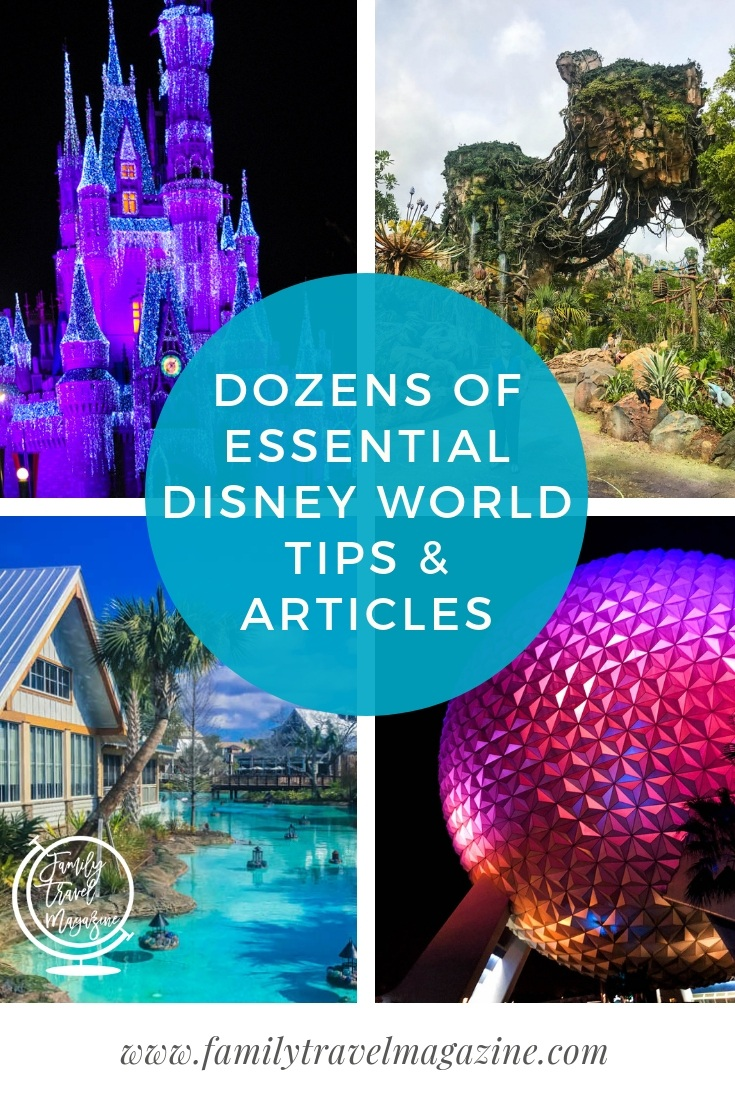 Dozens of Disney World Tips and articles including information about FastPass+, MagicBands, dining reservations, and so much more.