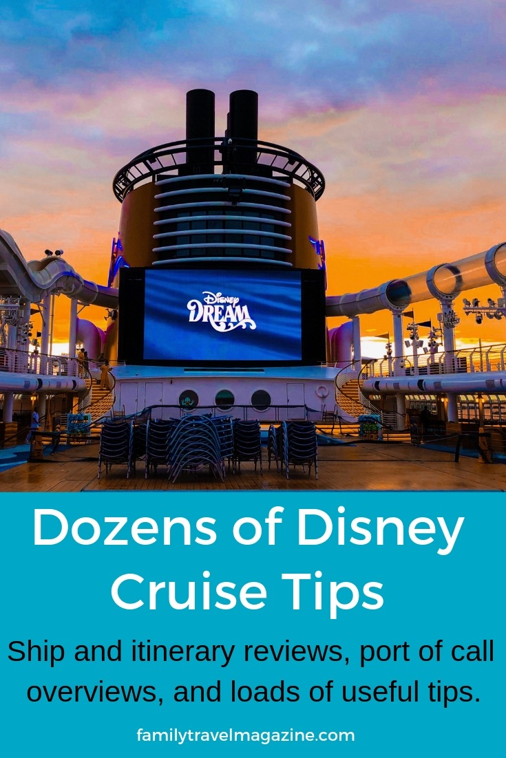 Dozens of Disney Cruise tips and reviews, including ship and itinerary reviews, excursion reviews, and travel tips.