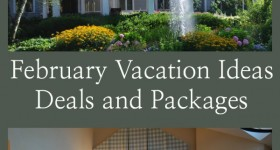 February Vacation Ideas - Packages and Deals