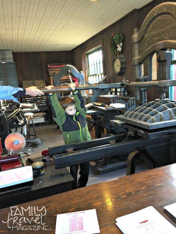 Mystic Seaport Printing Press