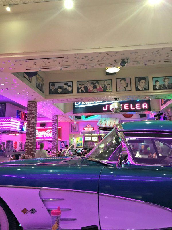 The Corvette Diner in San Diego