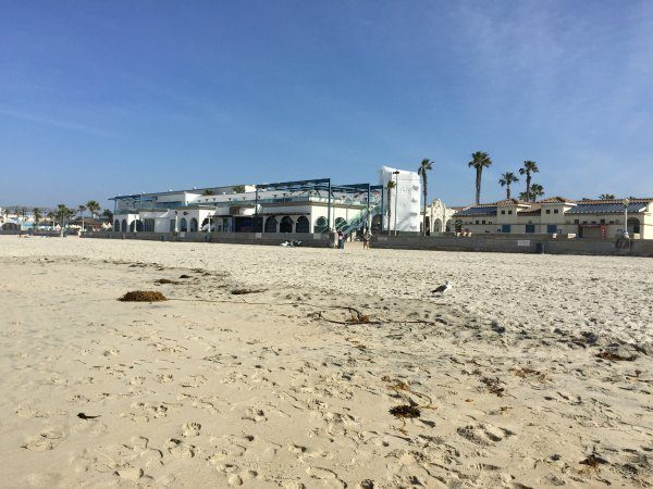 Mission Beach in San Diego