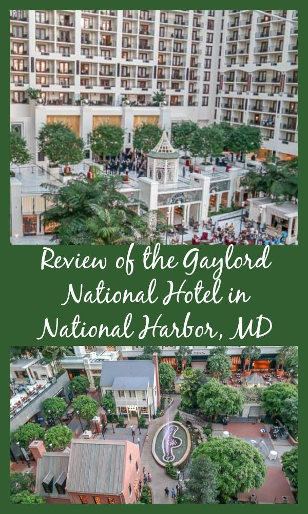 Where can you feel like you are outside when you are actually indoors? The Gaylord National Resort is located in popular National Harbor, MD, minutes from Washington, DC.