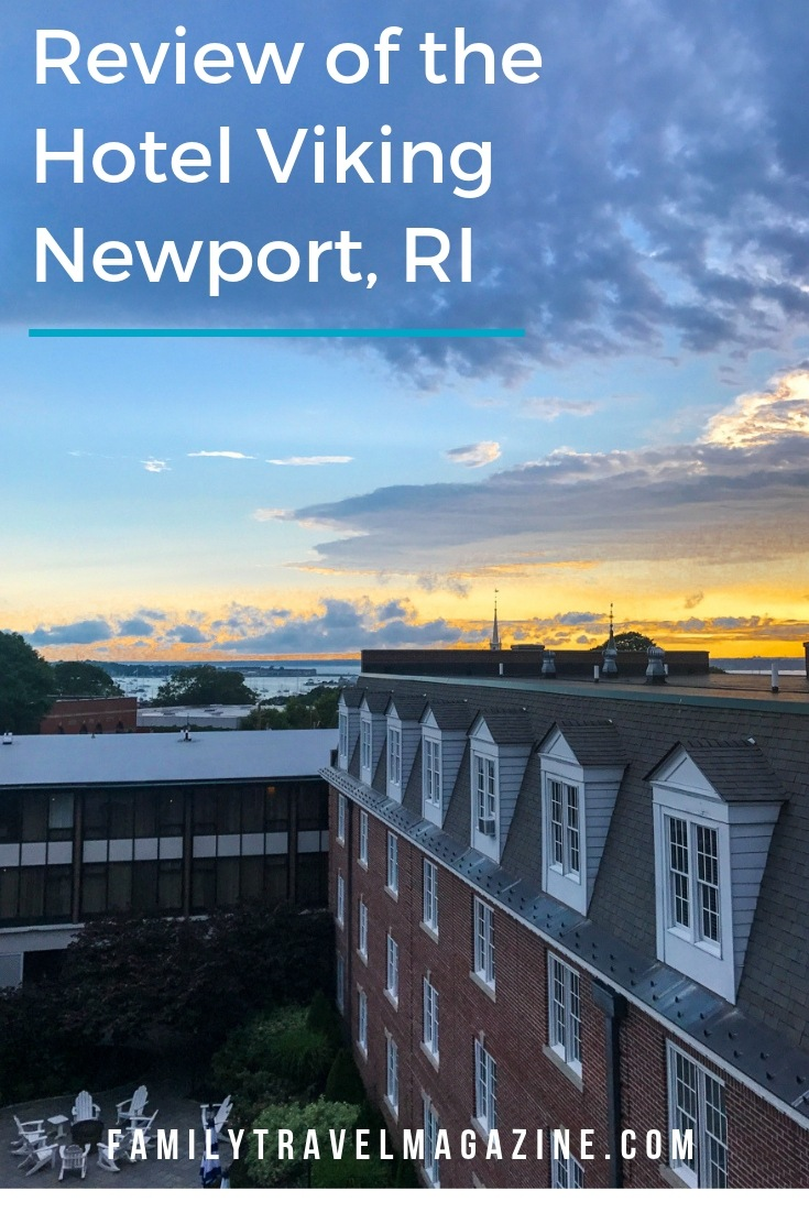 Visiting Newport, Rhode Island? Check out this review of the historic Hotel Viking Newport, located right downtown.